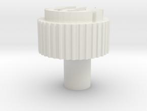 Kill Key Jedi offset in White Natural Versatile Plastic