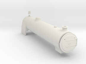 A0 - H1 - Parallel Boiler & Firebox A in White Natural Versatile Plastic