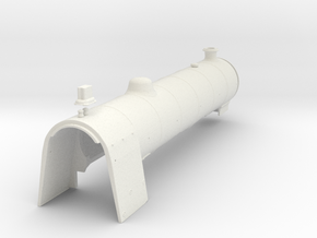 A0 - H1 - Parallel Boiler & Firebox B in White Natural Versatile Plastic