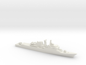 Niteroi-class frigate, 1/1800 in White Natural Versatile Plastic