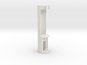 Sidious Saber Chassis - NB v4 with Switch Holder in White Natural Versatile Plastic