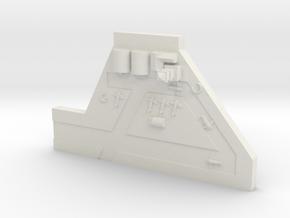 Forward Airbase in White Premium Versatile Plastic