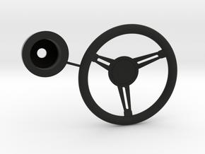 Steering Wheel Wellcraft SC38 in Black Premium Versatile Plastic: 1:10