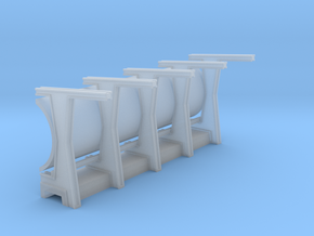 MPC Millennium Falcon Frames Section Front in Smooth Fine Detail Plastic