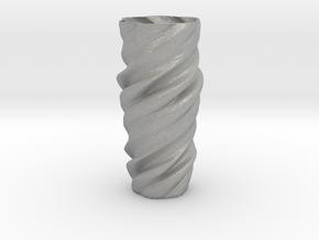 Vase ictor01 in Aluminum