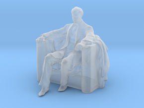 Printle F Abraham Lincoln - 1/87 - wob in Smooth Fine Detail Plastic