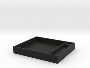 Dice Box in Black Natural Versatile Plastic