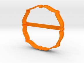 Plate 28 cookie cutter for professional in Orange Processed Versatile Plastic