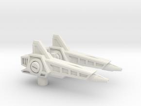 Sonic Boom Rifles(pistols?) for TR Fastlane in White Premium Strong & Flexible