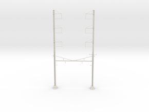 PRR CH 3PHASE+3PHASE  CATENARY STEADY in White Natural Versatile Plastic