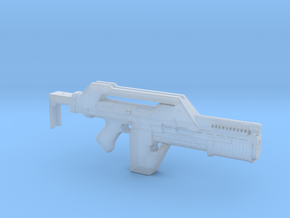 M41A Aliens Pulse Rifle in Smooth Fine Detail Plastic