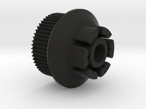 Evolve-97mm Speed Hack for Boosted Board V2. in Black Natural Versatile Plastic