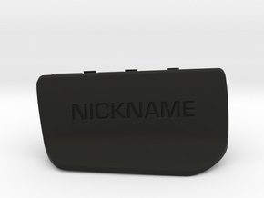 Nyth Sideplate in Black Natural Versatile Plastic