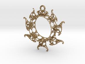 JkMRing in Polished Gold Steel