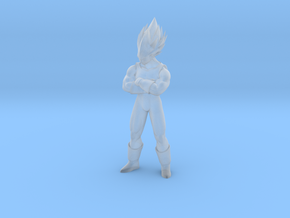 Vegeta dragon ball 1:48 in Smooth Fine Detail Plastic: 1:48 - O