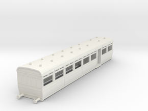 o-87-lswr-d25-pp-trailer-coach-1 in White Natural Versatile Plastic