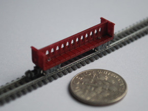 T Gauge 8 Center Beam Set in Smoothest Fine Detail Plastic