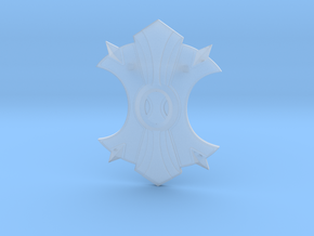 Miniature Shield of the Wurmblood - Dota2 in Smooth Fine Detail Plastic: 1:12