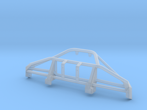 1/25 Early Bronco Front Tube Bumper, Low Winch in Smooth Fine Detail Plastic
