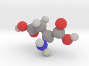 L-aspartic acid in Full Color Sandstone