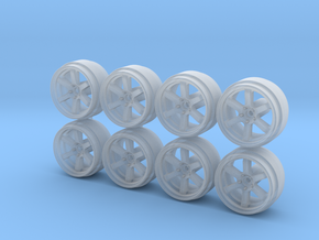 Rays TE37-8-6 Hot Wheels Rims in Frosted Extreme Detail
