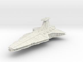 (Armada) Venator Star Destroyer in White Premium Versatile Plastic