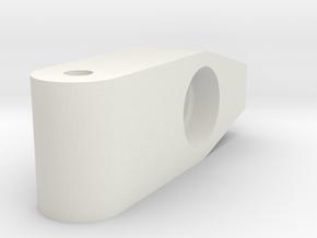 Traxxas 3D Rear Lowering Kit in White Premium Versatile Plastic
