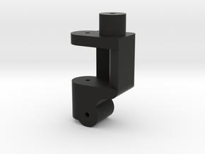 Traxxas Front Lowering Kit 0Deg Single LH in Black Strong & Flexible