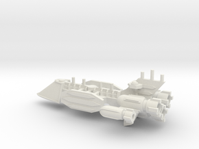 Clipper-Class Fast Transport in White Natural Versatile Plastic