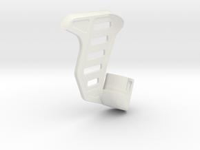 Tavor SAR Shark Fin - Right-handed in White Premium Versatile Plastic