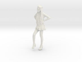 Printle C Femme 890 - 1/24 - wob in White Natural Versatile Plastic