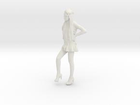 Printle C Femme 890 - 1/32 - wob in White Natural Versatile Plastic