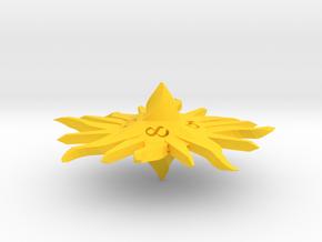 Radiant D8 in Yellow Processed Versatile Plastic