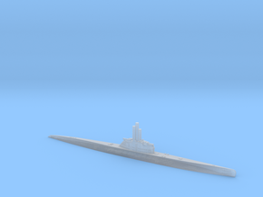 1/1200 Uboat XXI in Smooth Fine Detail Plastic