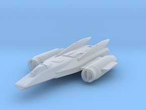Hammer Space Fighter  in Smooth Fine Detail Plastic