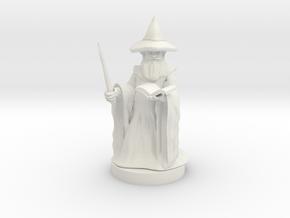 Gnome Wizard in White Premium Strong & Flexible