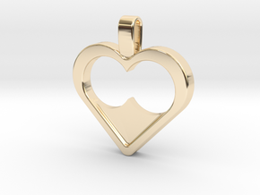 Infinite love in 14K Yellow Gold
