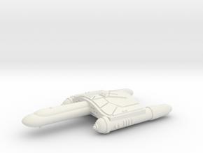 3125 Scale Romulan SkyHawk-A Destroyer WEM in White Natural Versatile Plastic