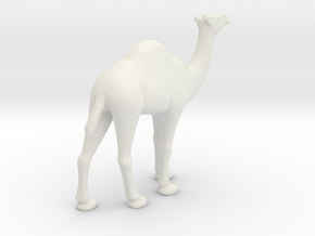 Printle Thing Dromedary - 1/43.5 in White Natural Versatile Plastic