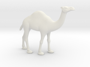 Printle Thing Dromedary - 1/48 in White Natural Versatile Plastic