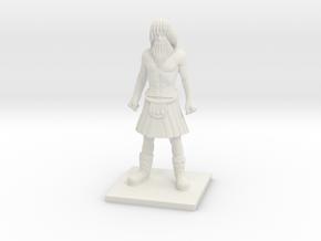 Norse 04 - Lineman in White Natural Versatile Plastic