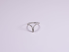 YOUNIVERSAL Y.01, US size 3.5, ring d=14,5mm in Polished Silver: 3.5 / 45.25