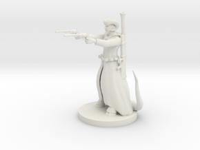 Tieflng Gunslinger in White Natural Versatile Plastic