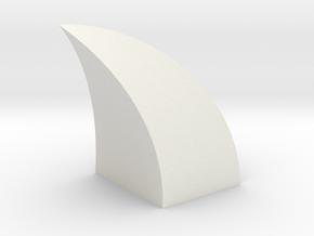 Dragon Claw in White Natural Versatile Plastic