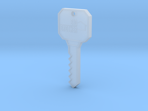 Big Brother Houseguest Key (Personalized Name!) in Smooth Fine Detail Plastic