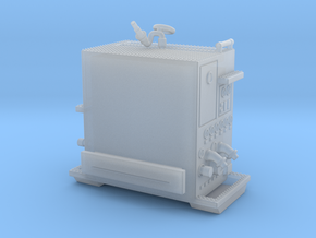 1/87-scale Pumper Pump Module in Smooth Fine Detail Plastic