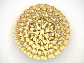 Juicy Bowl in Polished Gold Steel