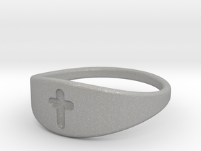 Cross ring A (US sizes 10 – 13) in Aluminum: 10 / 61.5