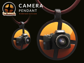 Camera Team Fortress - Pendant | Keychain in Coated Full Color Sandstone