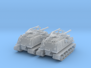 2x Bergepanzer  M 88 1:160  Spur N in Smooth Fine Detail Plastic
